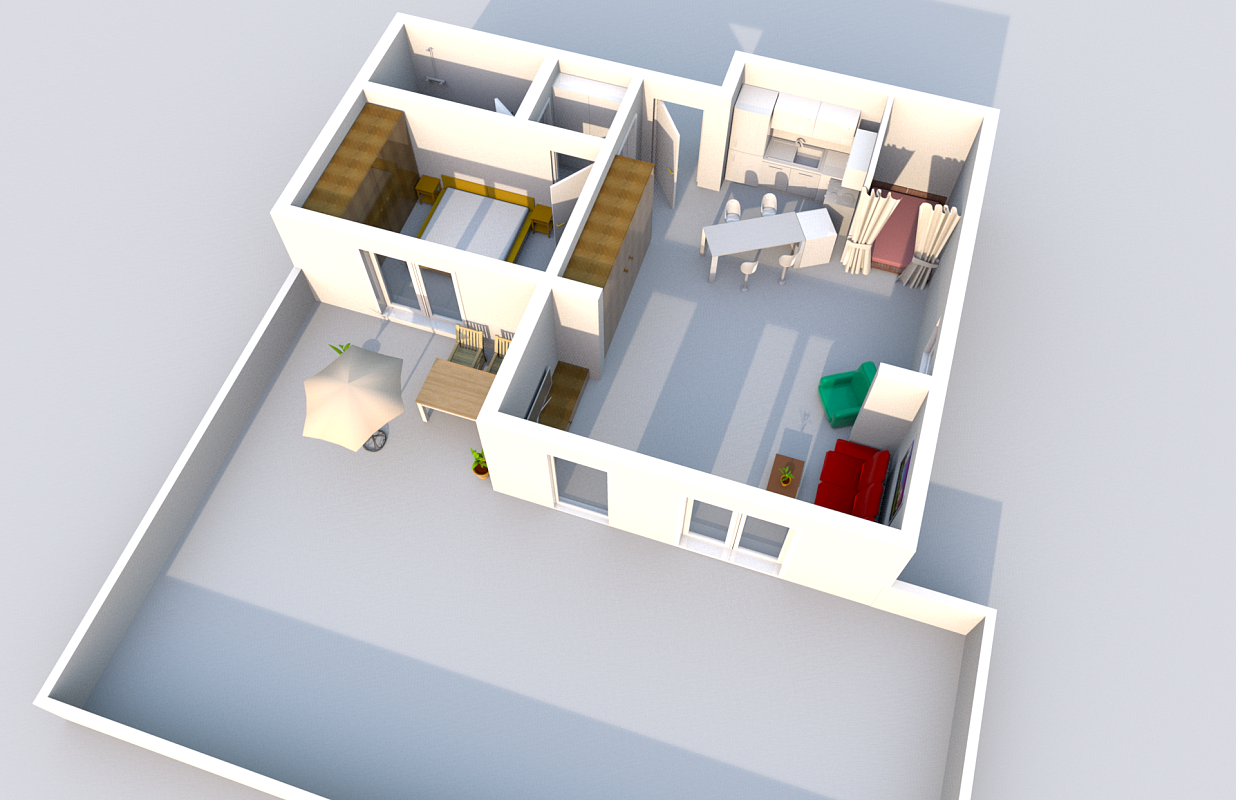 Grundriss 3d dgrundrisse with grundriss 3d elegant - Google chrome 3d home design app ...